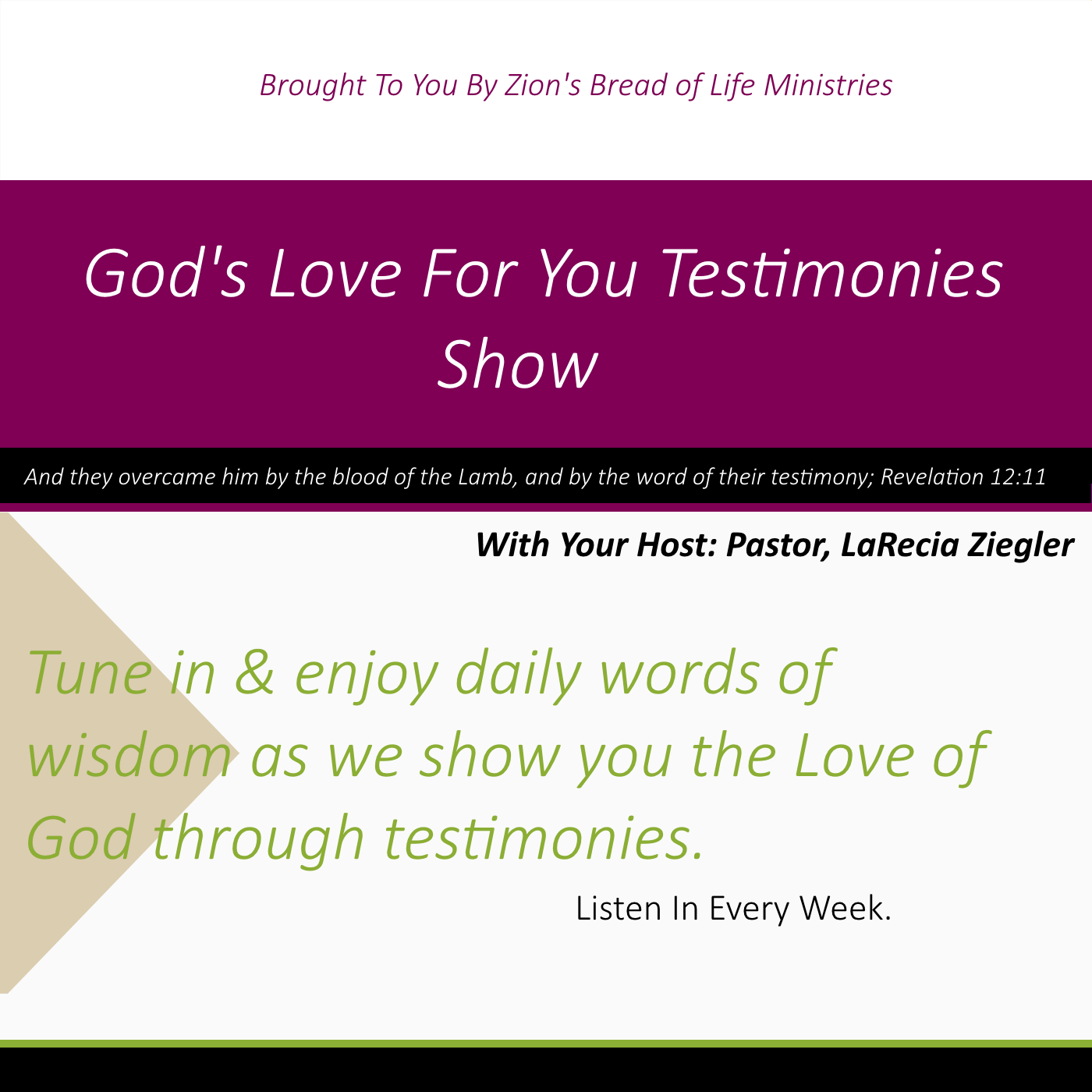 Zions Bread of Life Ministries